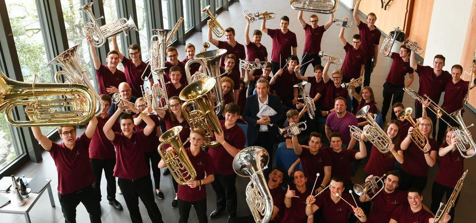 Die Tiroler CatchBasin Brass Band errang heuer bei der Europameisterschaft 99 von 100 Punkten der Jury.