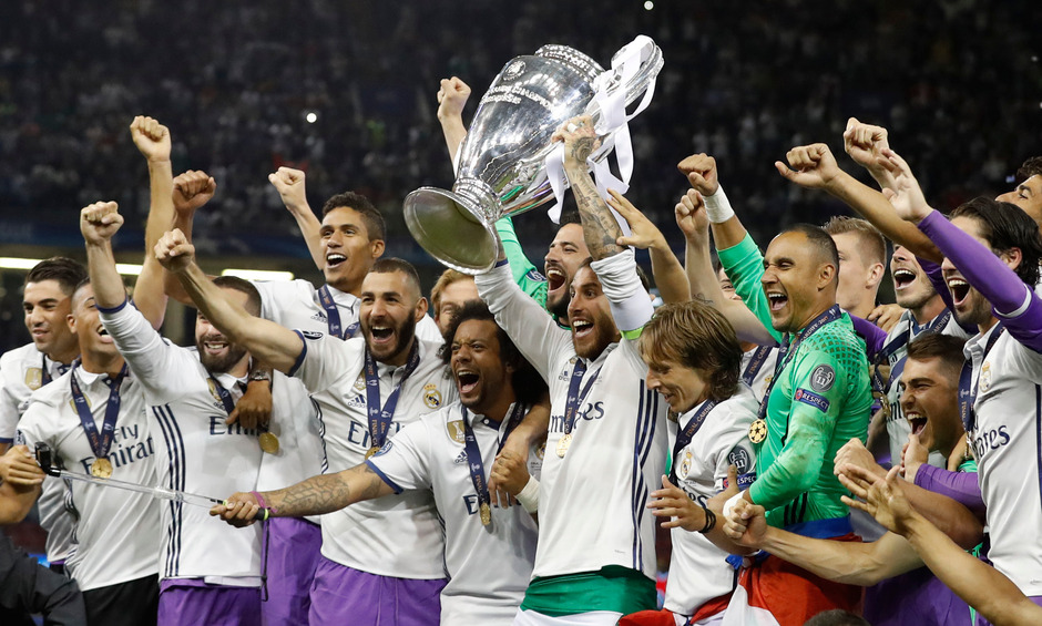 Zuletzt gewann Real Madrid dreimal in Folge die Champions League. Heuer holte Real gar keinen Titel, ist aber trotzdem wertvollster Klub.