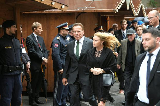 Arnold Schwarzenegger mit Freundin Heather Milligan.