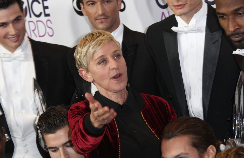 US-Moderatorin Ellen DeGeneres.