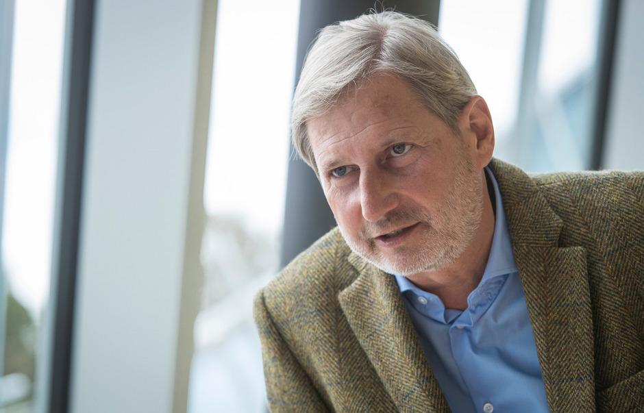 Der Österreicher Johannes Hahn ist in der Kommission in Brüssel für europäische Nachbarschaftspolitik und EU-Erweiterung zuständig.