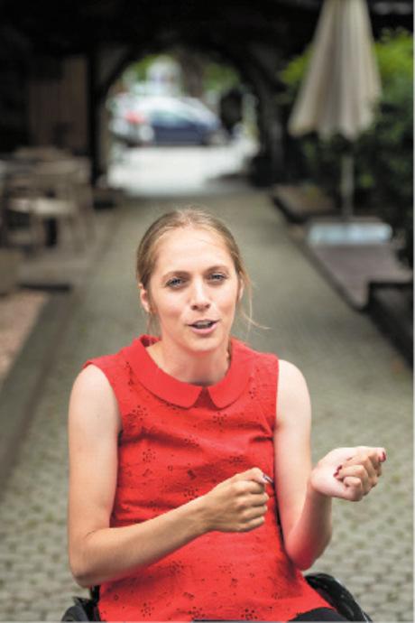 Kira Grünberg soll Behindertensprecherin bleiben.