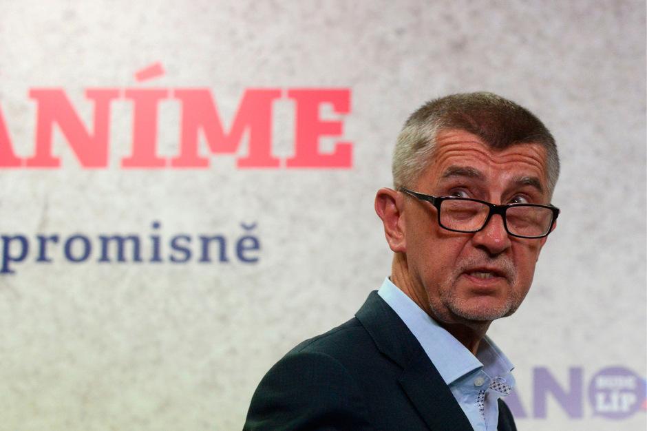 Der tschechische Premierminister Andrej Babis.