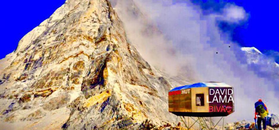So wird das Biwak aussehen (im Bild eine Animation).