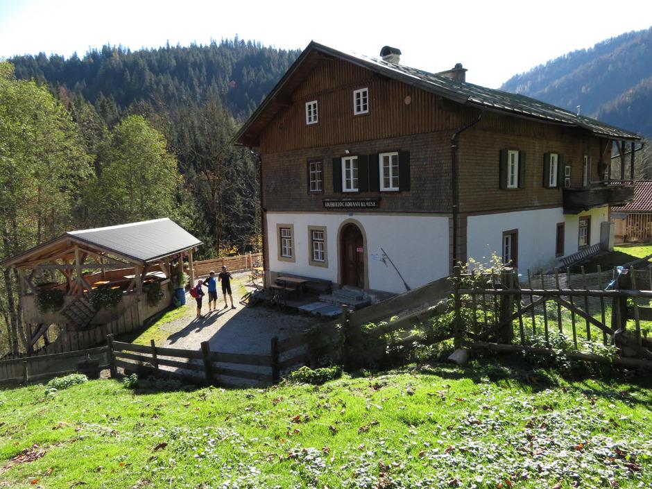 Das Gasthaus Erzherzog-Johann-Klause kann auch in diesem Sommer nicht geöffnet werden.