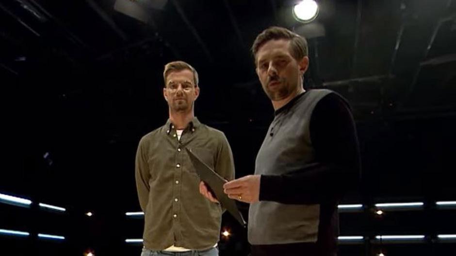 Können auch anders: Joko Winterscheidt und Klaas Heufer-Umlauf.