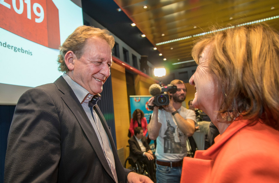 AK-Präsident Erwin Zangerl und AAB-Obfrau Beate Palfrader pochen parteiintern auf einen sicheren Listenplatz für einen VP-Arbeitnehmer.