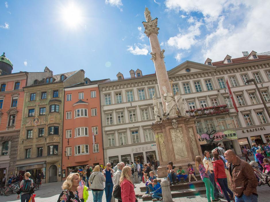 Aussagen zu einem angeblichen Selbstmordanschlag auf der Maria-Theresien-Straße waren Prozessthema am Landesgericht.