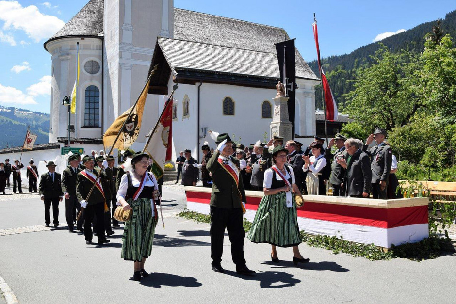 Die Kameradschaft Reith b. K. feierte mit der Landeswallfahrt ihr 100-Jahr-Jubiläum.