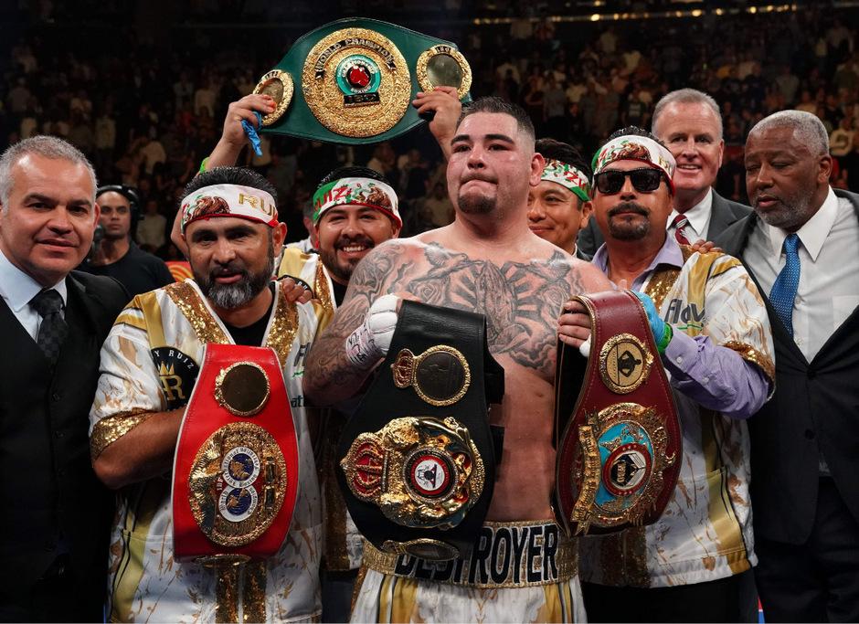 Meister (fast) aller Klassen: Boxprofi Andy Ruiz jr.