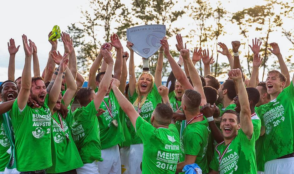 2013 war Präsidentin Diana Langes mit der Vision Bundesliga in Wattens angetreten. Seit Samstag ist der Traum in der Kristallstadt Realität.