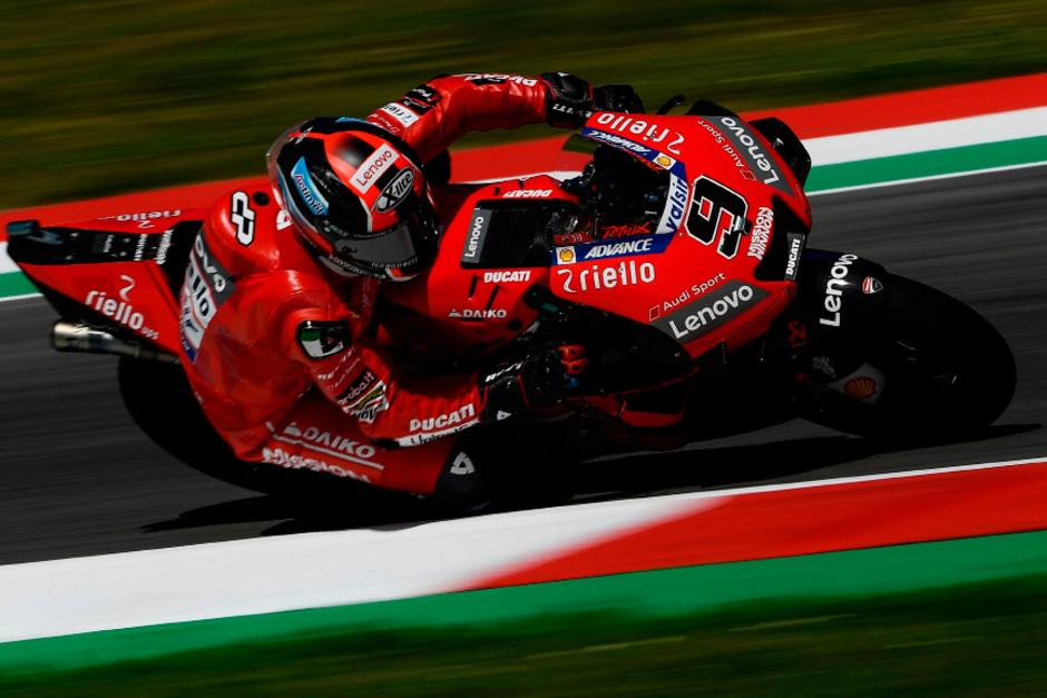 Danilo Petrucci hatte bei seinem Heim-GP die Nase vorne.