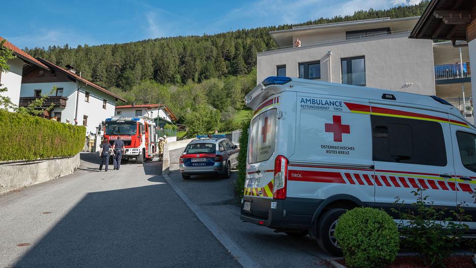 Der 85-Jähriger wurde von der Rettung nach Innabruck in die Klinik gebracht.