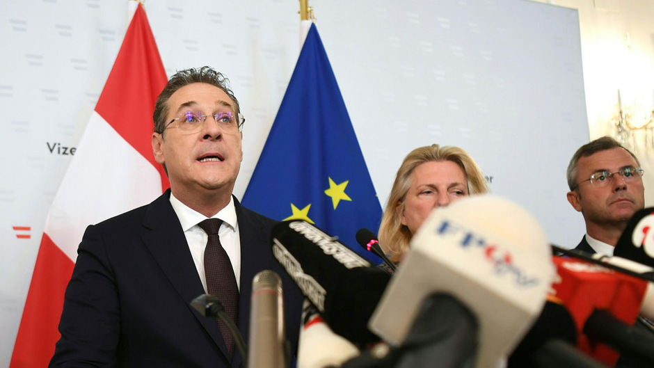 Vor zweieinhalb Wochen legte HC Strache alle seine damaligen politischen Ämter zurück. Nun winkt ihm ein EU-Mandat.
