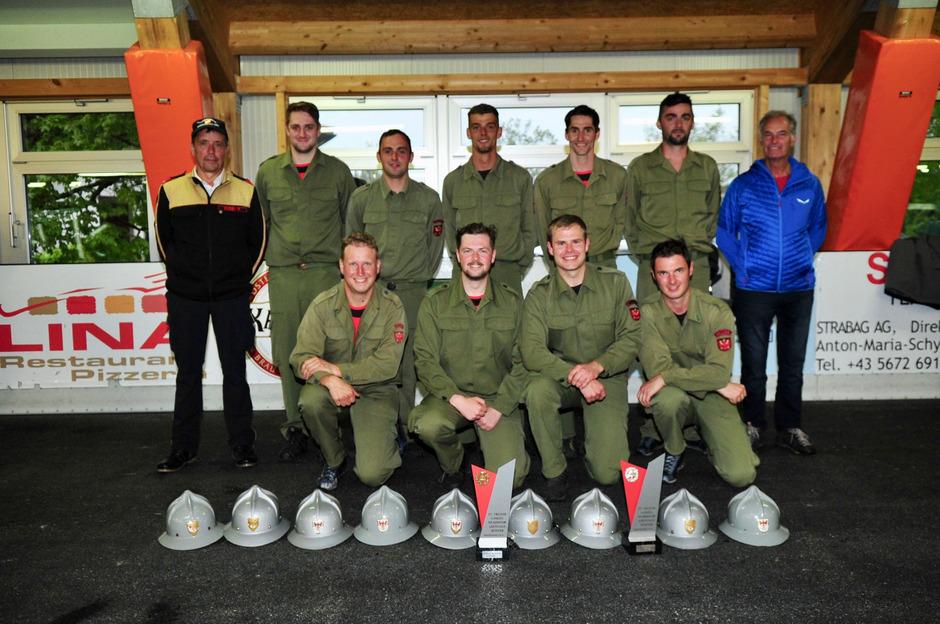 Die Bewerbsgruppe Sillian holte sich beim Landeswettbewerb den ersten Rang in den Gruppen Bronze und Silber.