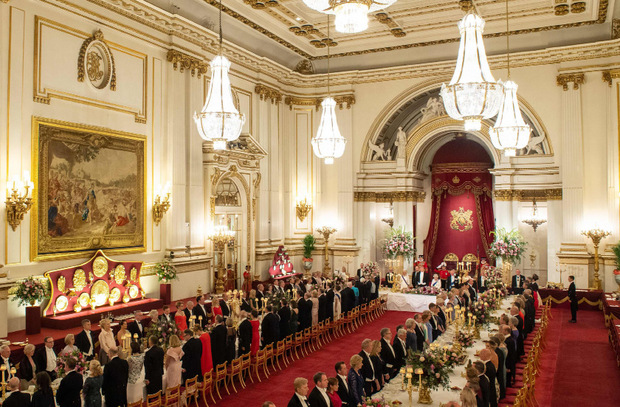 Beim Staatsbankett im Buckingham-Palast lobte die Queen die langjährige Freundschaft zwischen den beiden Staaten.