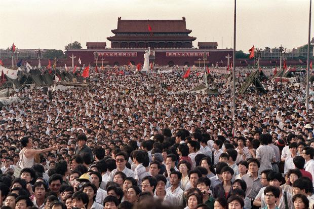 Die Studierenden forderten demokratische Reformen.