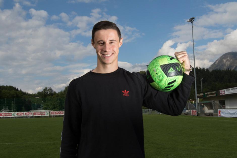 Nach Ende der Bundesliga-Saison und vor der U21-EM hatte Marco Friedl Zeit für einen Heimatbesuch in Kirchbichl.