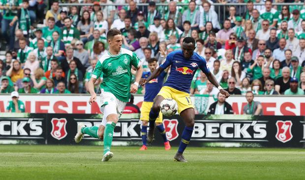 Marco Friedl (l.) konnte sich bei Werder Bremen empfehlen.