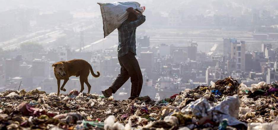 Müllsammler durchkämmen die Deponie Tag für Tag nach Verwertbarem.