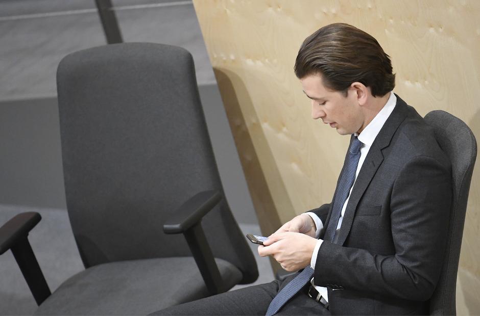 Sebastian Kurz wird nach seiner Abwahl als Kanzler nicht ins Parlament wechseln.