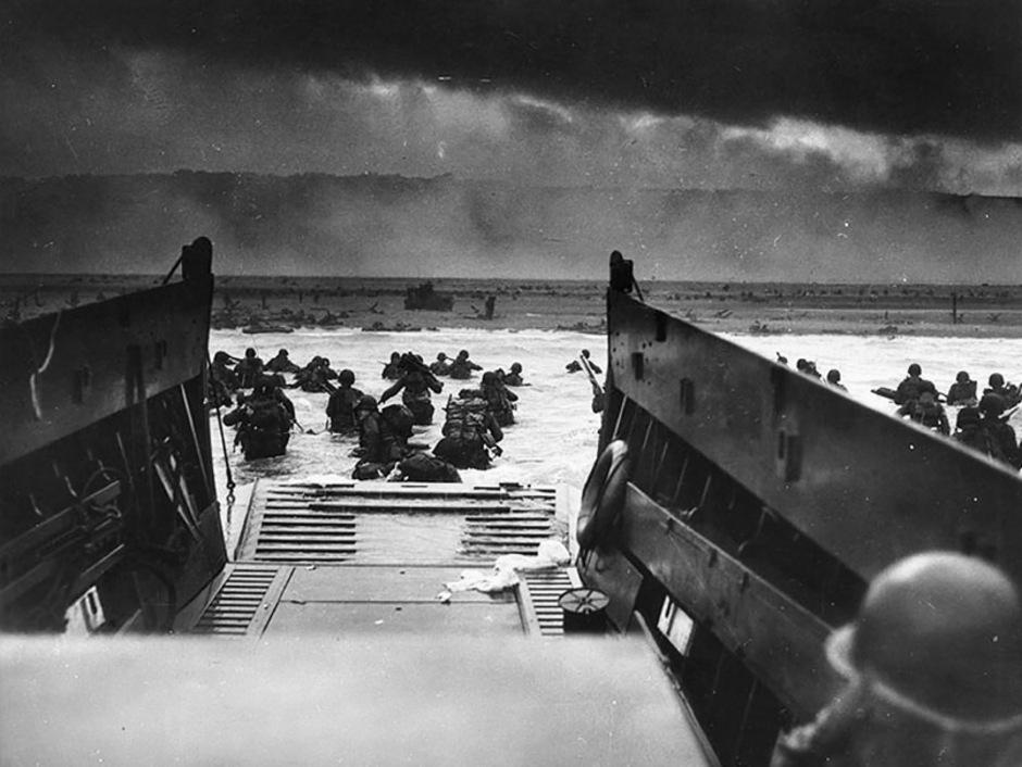 Am Abend des 6. Juni standen bereits mehr als 150.000 der Alliierten auf französischem Boden.