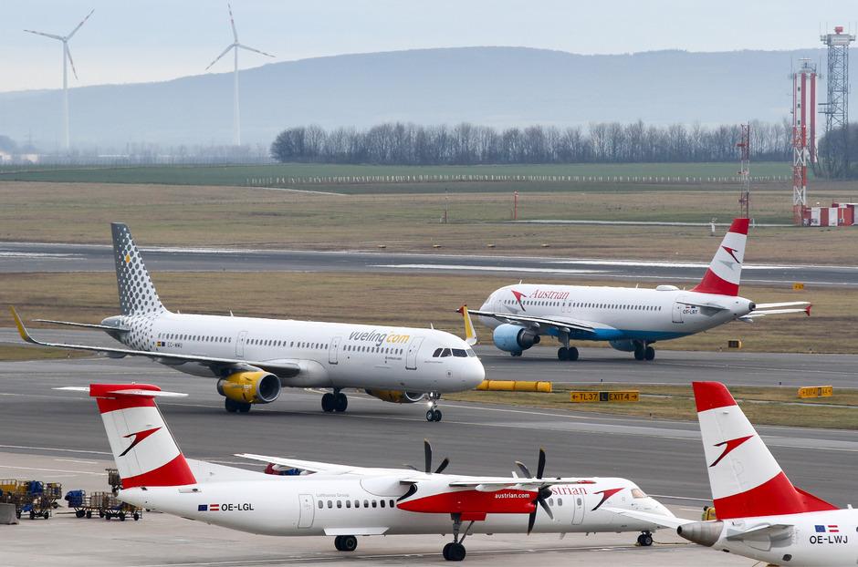 Im heurigen Sommer gibt es in Wien Schwechat um 56 Prozent mehr Flugkapazitäten als 2018.
