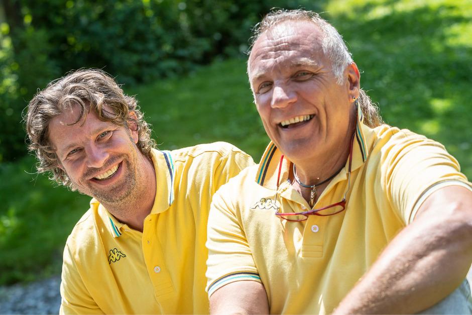 Neo-Cheftrainer Wolfgang Stampfer (l.) und Weltcup-Coach Gerhard Rainer sind voller Tatendrang.