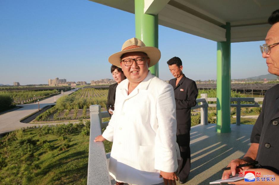 Der nordkoreanische Staatschef Kim Jong-un. (Archivbild)