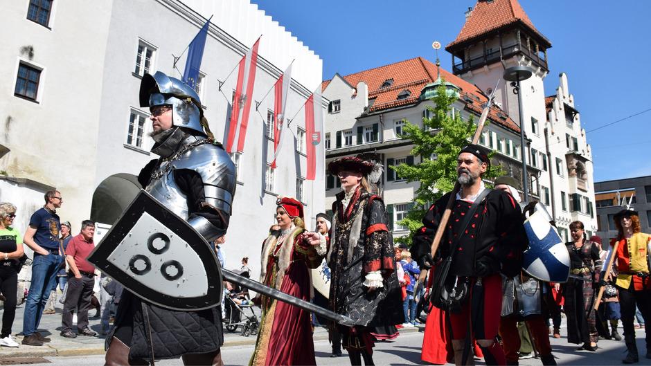 Ab Freitag ziehen wieder die Ritter durch Kufstein.