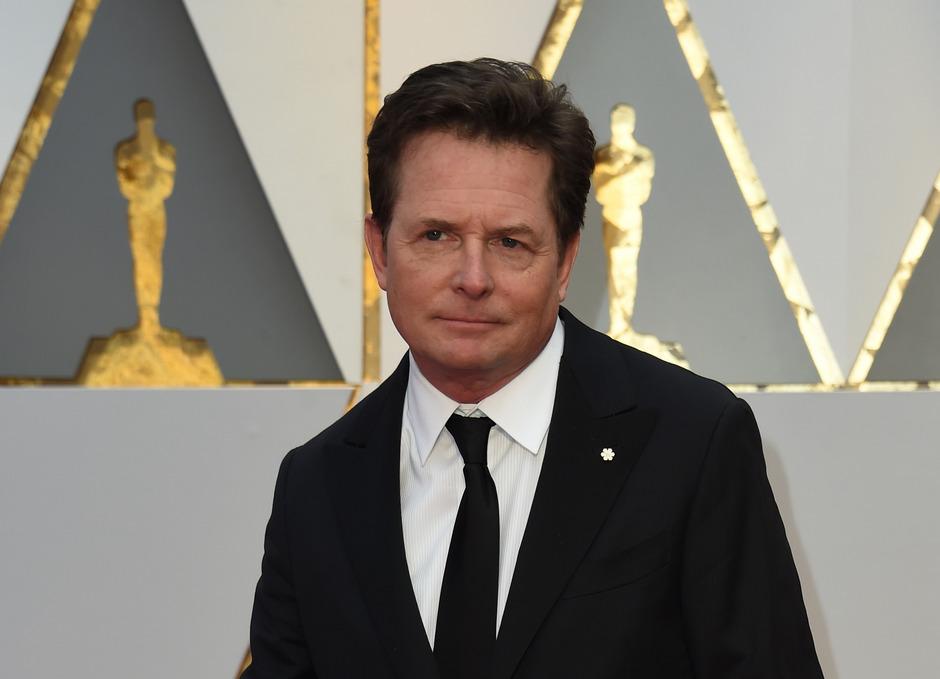 Parkinson-Patient Michael J. Fox.