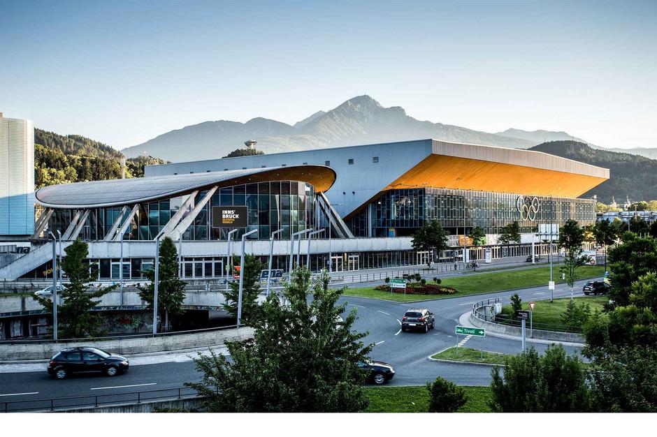 Wirtschaftliche Effekte von Messen oder Kongressen in Olympiaworld (Bild) und Congress Messe Innsbruck wurden vom Wifo untersucht.