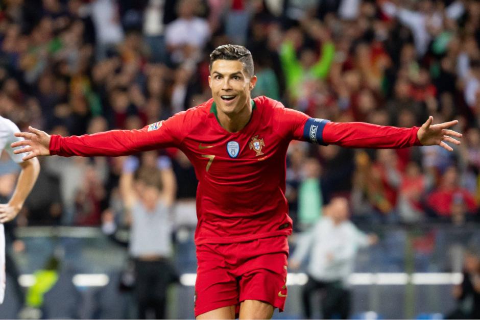 Cristiano Ronaldo erzielte alle drei Treffer seiner Mannschaft.