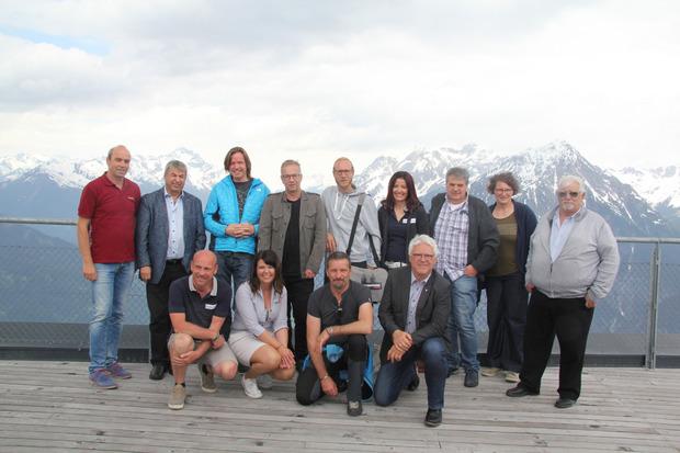 Das Projekt wurde gestern in der Venet-Gipfelhütte von den Verantwortlichen vorgestellt.