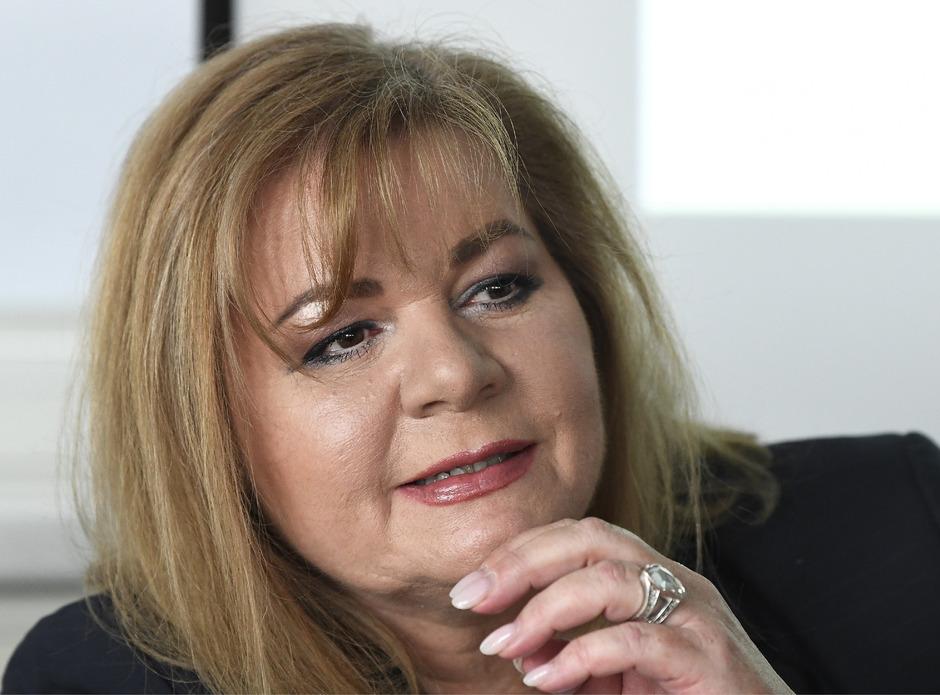 Ilse Vrabl-Sanda, die oberste Korruptionsstaatsanwältin.