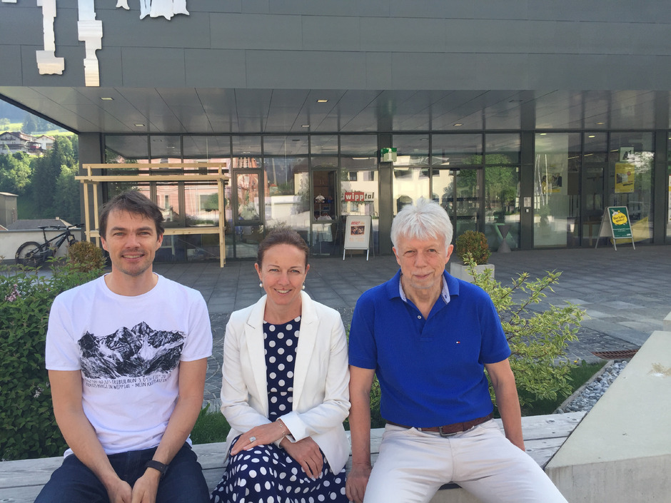 Helga Beermeister folgt Joakim Strickner (l.) als TVB-Geschäftsführerin nach, Obmann Kurt Hasenbacher ist mit dieser Lösung zufrieden.