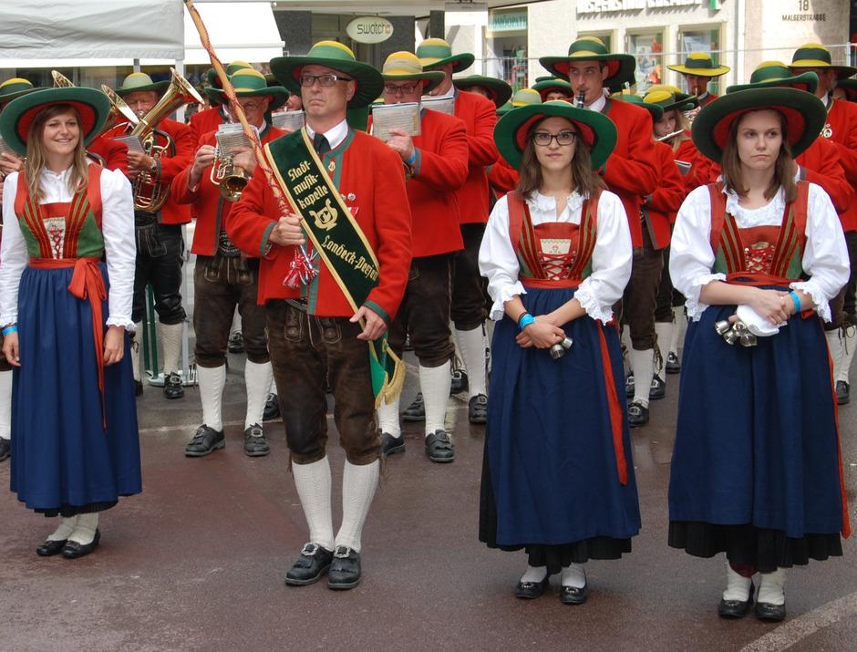 Fans der Stadtmusik Landeck-Perjen dürfen sich auf ein Showkonzert freuen – Samstag, 29. Juni, ab 19.30 Uhr, Bühne in der Citypassage.