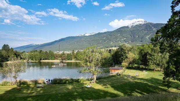 """Der Lanser See wird seit 2011 mit """"exzellent"""" bewertet."""
