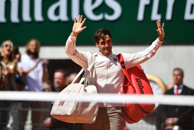 Roger Federer verabschiedete sich aus Roland Garros.