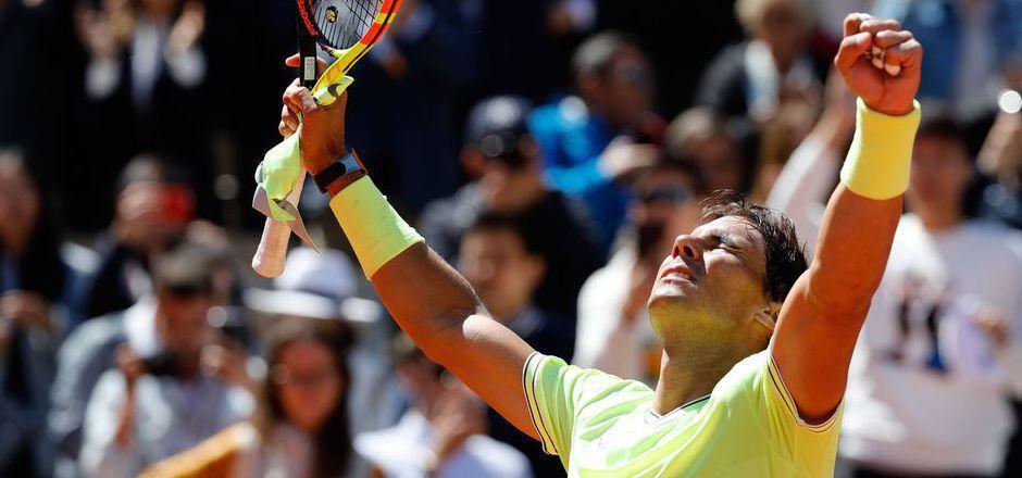 Eine Klasse für sich: Sandplatzkönig Rafael Nadal.