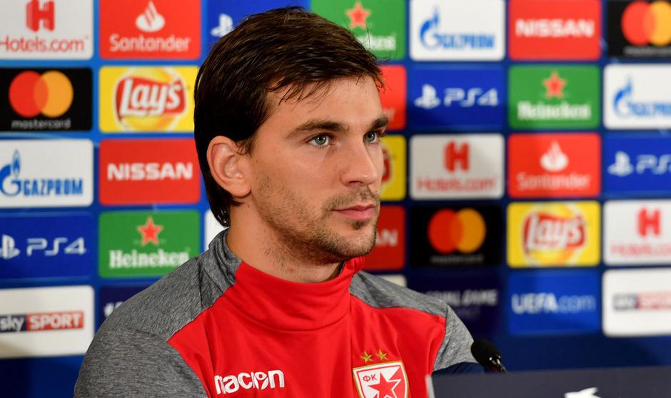 Auch der in Serbien geborene montenegrinische Teamspieler Filip Stojkovic lief gegen den Kosovo nicht auf.