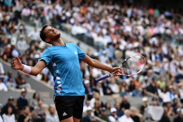 Dominic Thiem ist am Sonntag der erste Grand-Slam-Titel noch nicht gelungen.