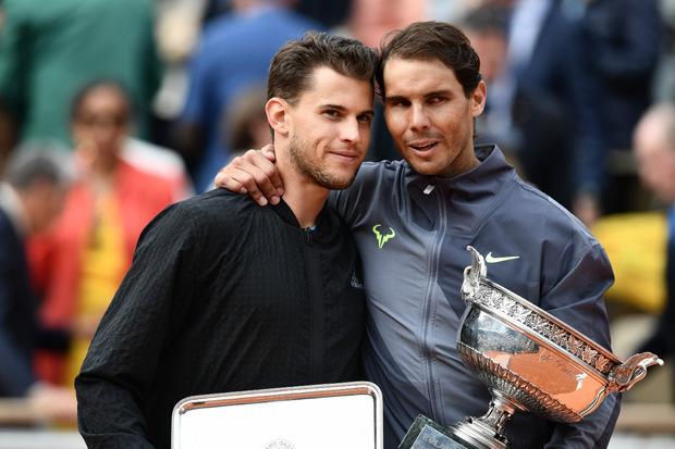 """Champion Nadal zu Thiem: """"Wenn ich gegen wen verlieren will, dann gegen dich."""""""