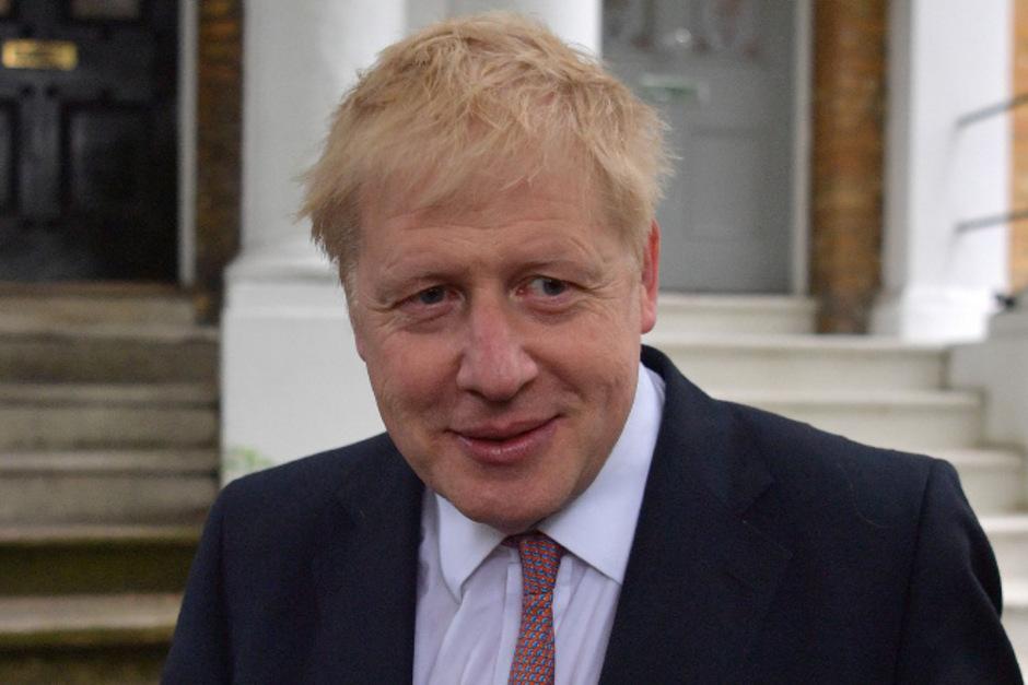 Der Brexit-Hardliner Boris Johnson.