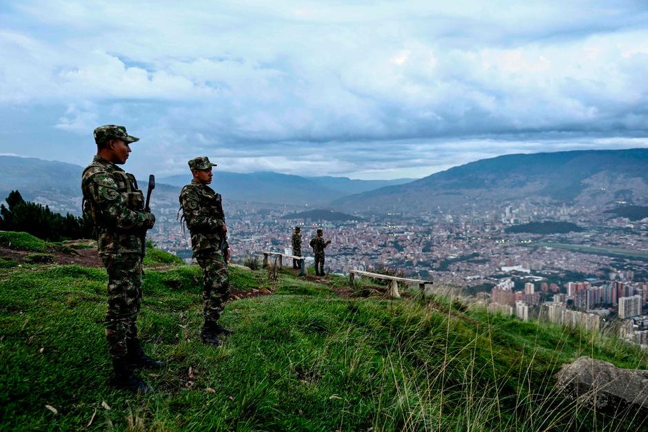 Soldaten in Kolumbien.