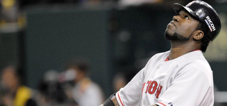 David Ortiz spielte für die Boston Red Sox.