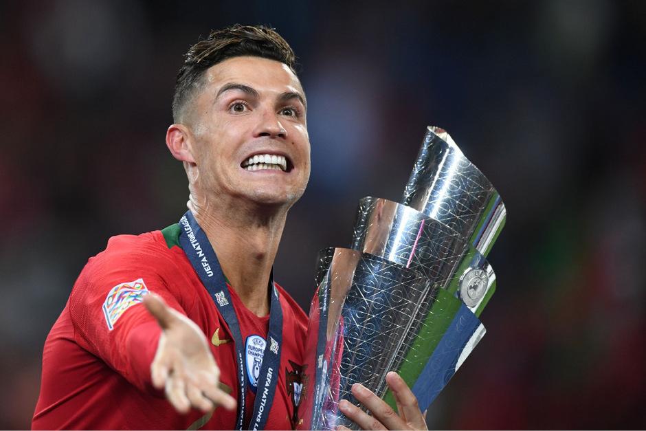 Die ein oder andere Trophäe will Cristiano Ronaldo noch mit nach Hause nehmen.