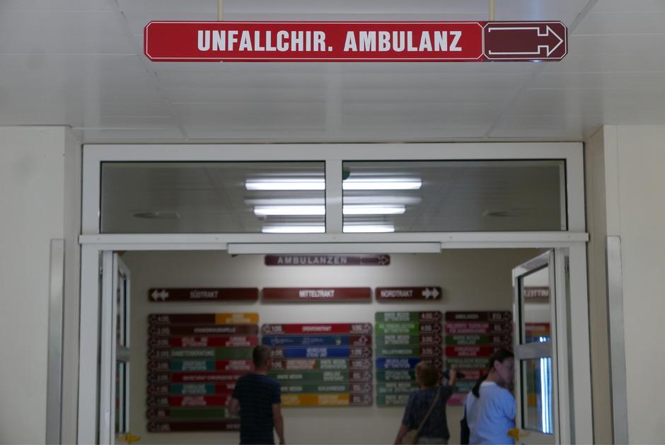 Aus der unfallchirurgischen Ambulanz soll eine zentrale ambulante Erstversorgungseinheit werden.