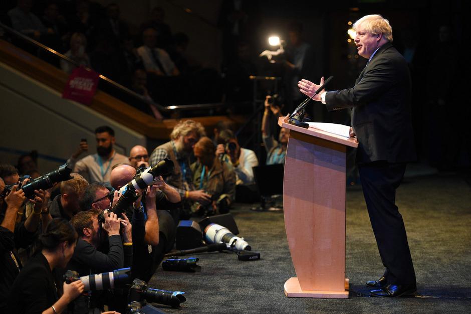 Ex-Außenminister Boris Johnson.