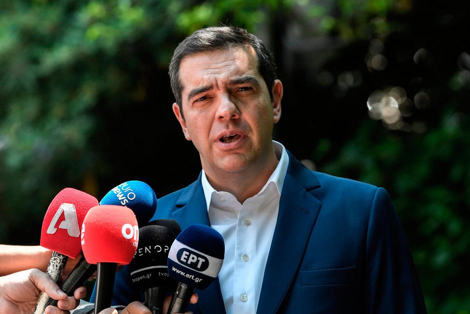 Regierungschef Alexis Tsipras (Syriza).